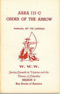 Area 3-C Manual of Lodges, 1957