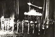 Kecoughtan Lodge 463 Ceremony circa 1971-72